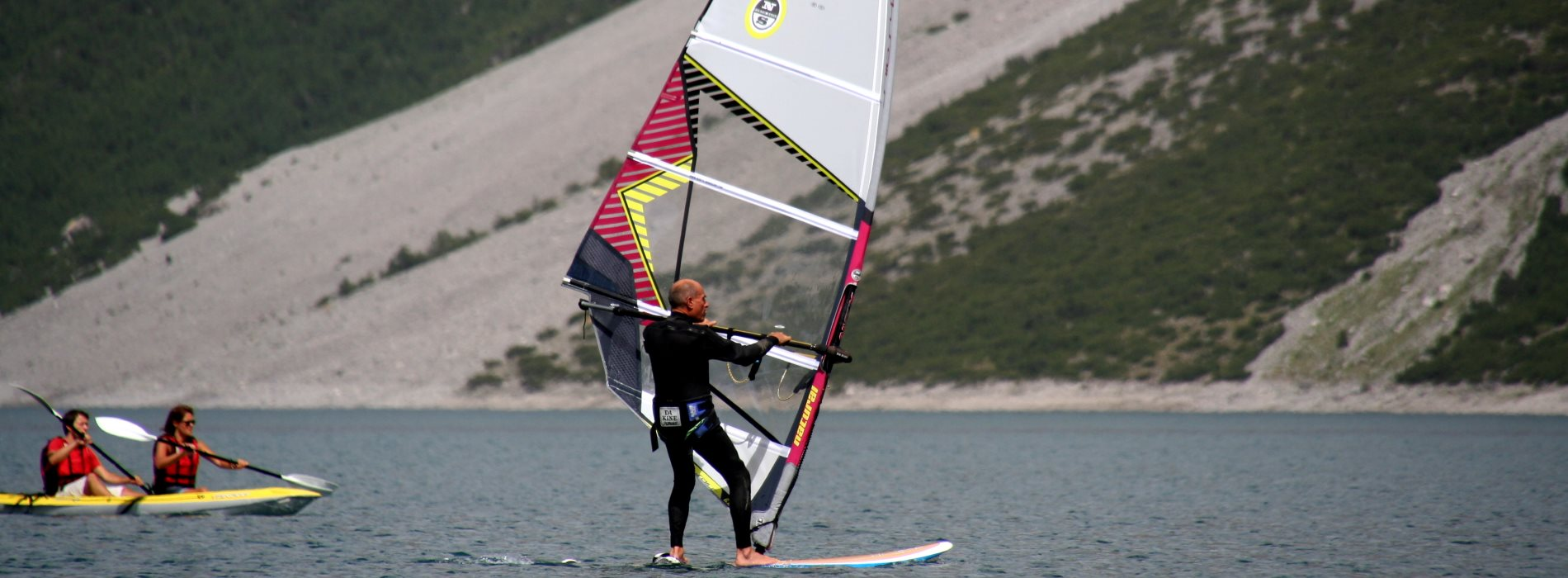 windsurf al lago del Gallo